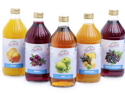 Erfrischungsgetränke / Konzentrate 0,5 L Flaschen