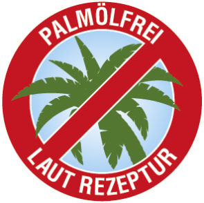 palmölfrei / ohne Palmöl