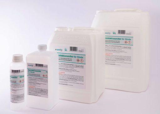 n-sanitize Desinfektionsmittel Produktübersicht
